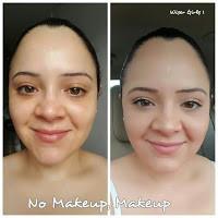 Muestra rostro con maquillaje