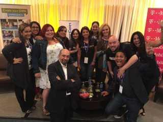 participantes y organizadores puerto rico blogger con
