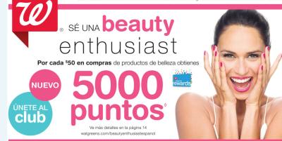 Programa asistencia de belleza Walgreens