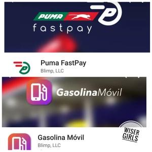puma fast pay y gasolina movil aplicaciones celular