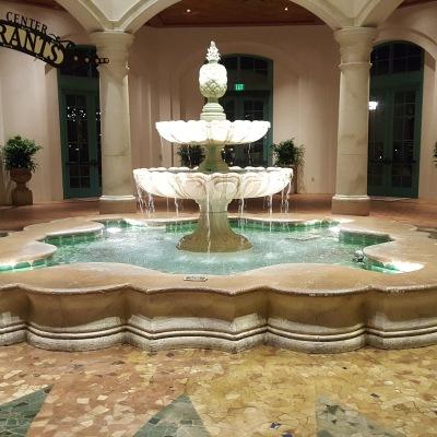 fuente principal hotel disney coronado springs florida