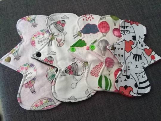 liners y toallas menstruales de simplicity for you