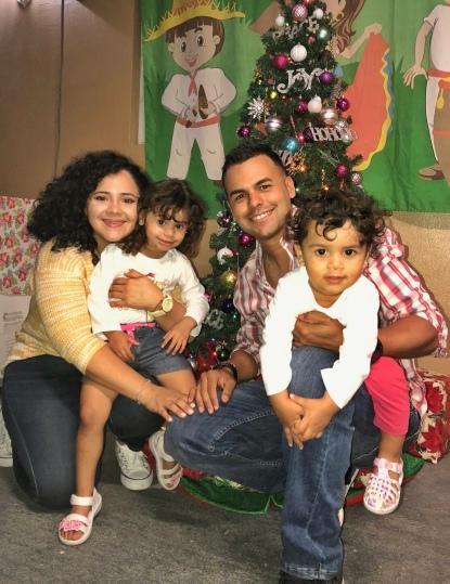 imagen familia completa en navidad