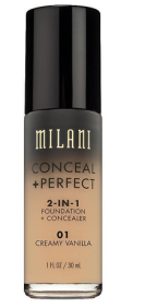 base milani conceal + perfect 2 in 1