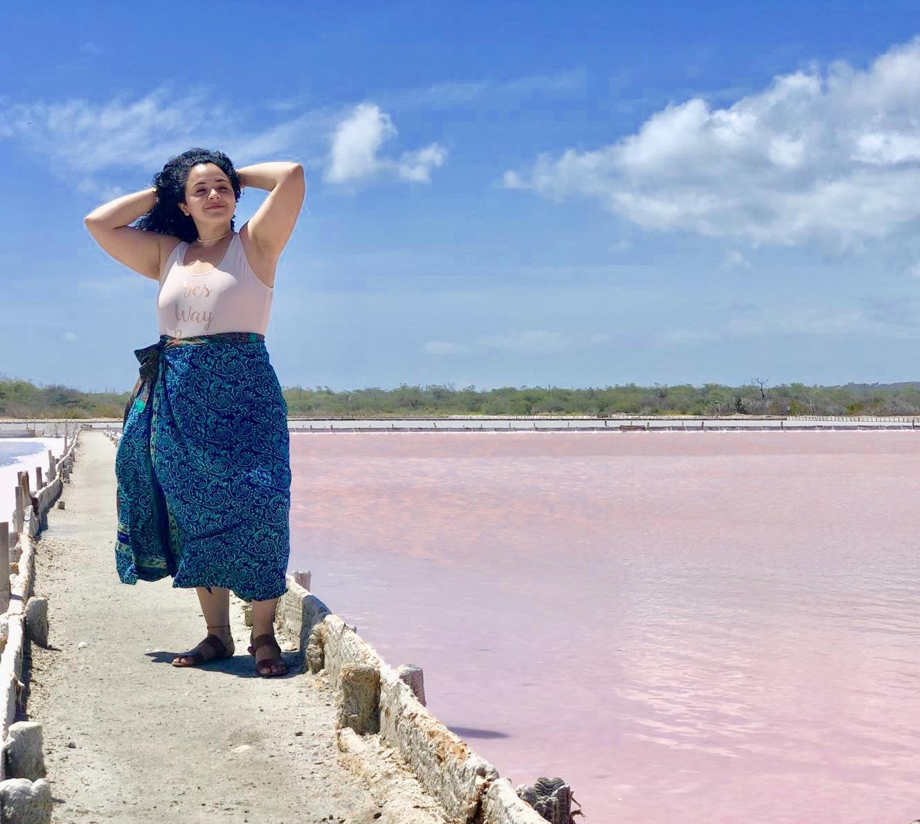 dia veraniego con sari skirt en playa rosada