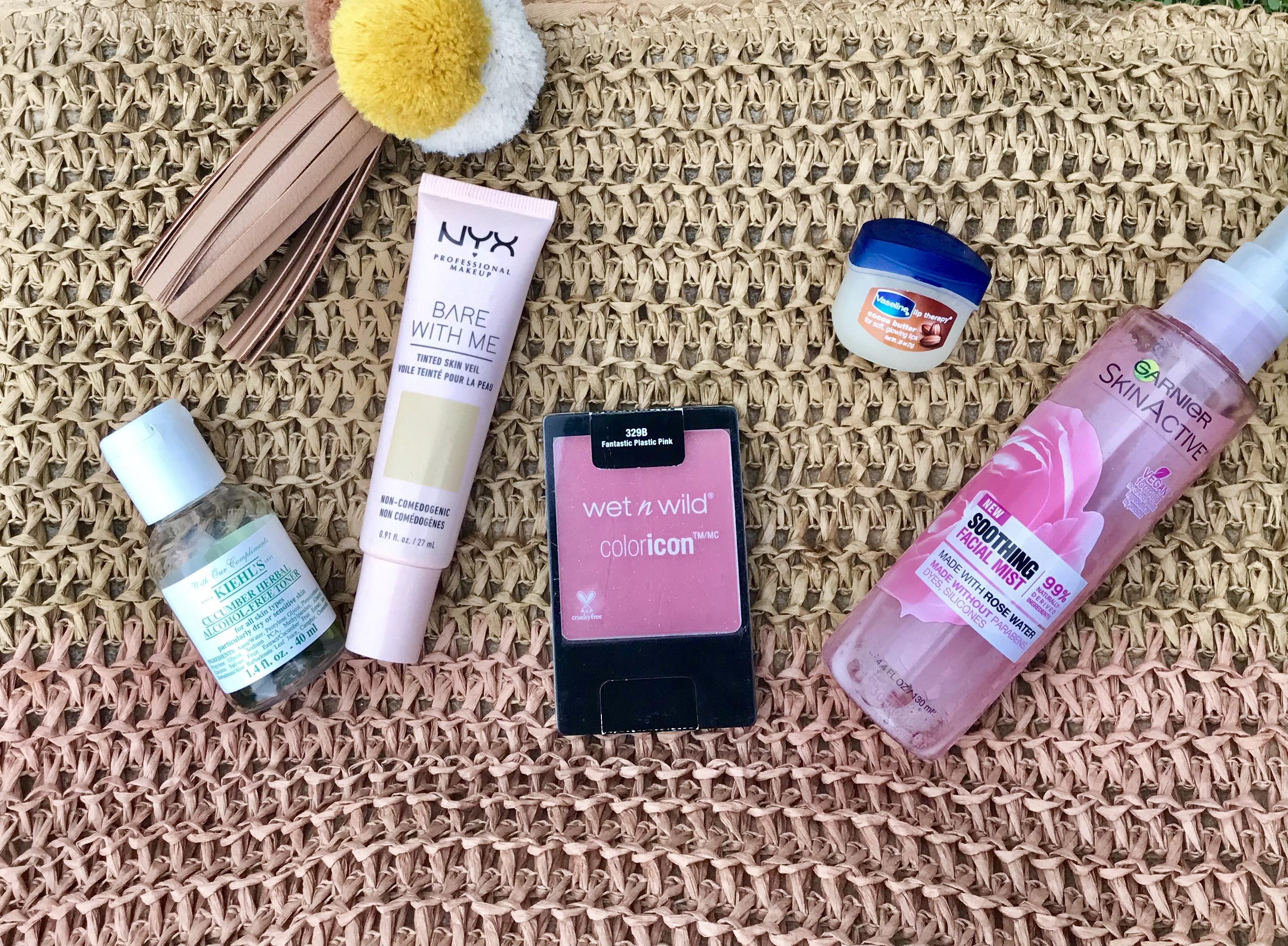 productos frescos para rostro y usar en verano