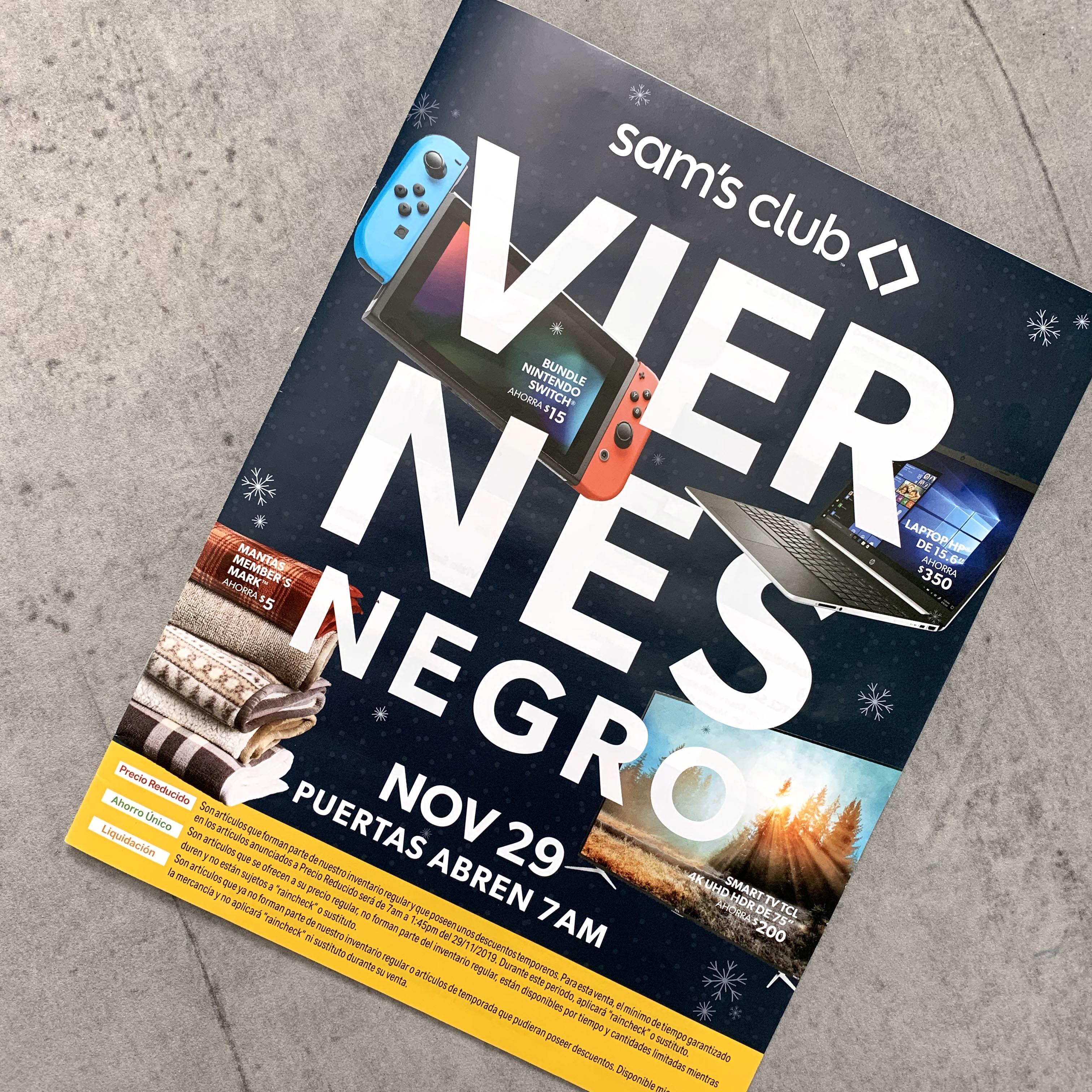 [Exclusivo] Catálogo de Viernes Negro - Sam?s Club Puerto Rico